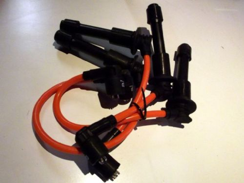HT leads, 8mm, orange, Mazda MX-5 mk1 & mk2, 1.6 & 1.8, 1989-2000